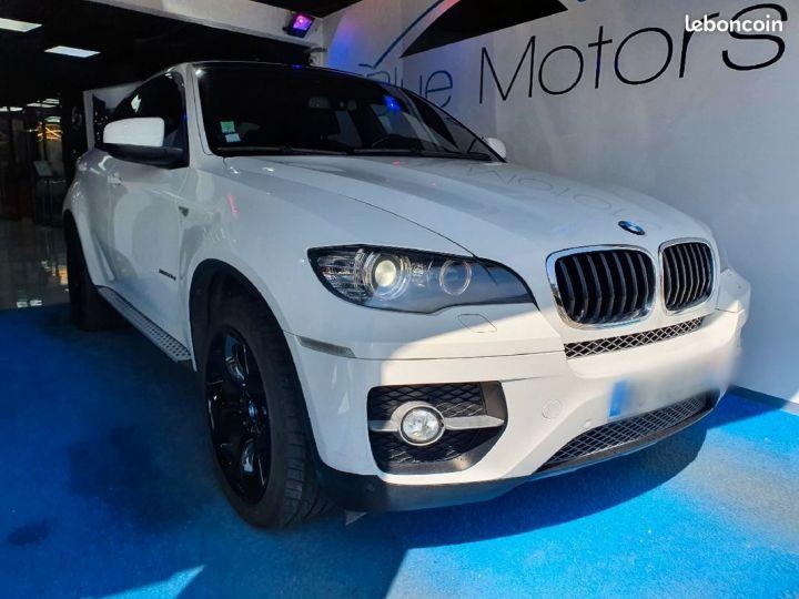 BMW X6 35D Exclusive Blanc - 1