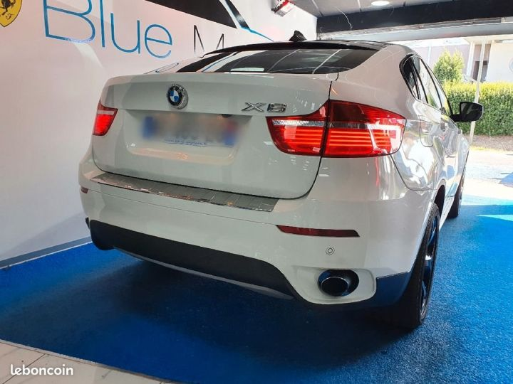 BMW X6 35D Exclusive Blanc - 2