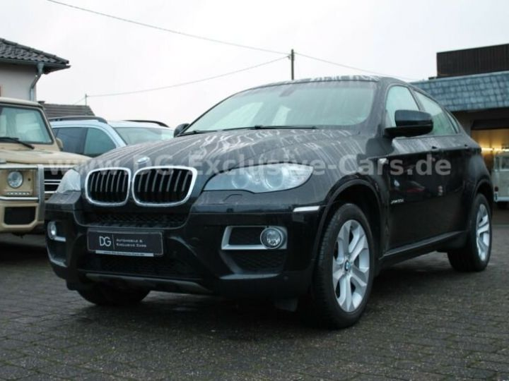 BMW X6 # BMW X6 xDrive30d 1ere Main, inclus carte grise,malus écolo,livraison à domicile. Noir Peinture métallisée - 2