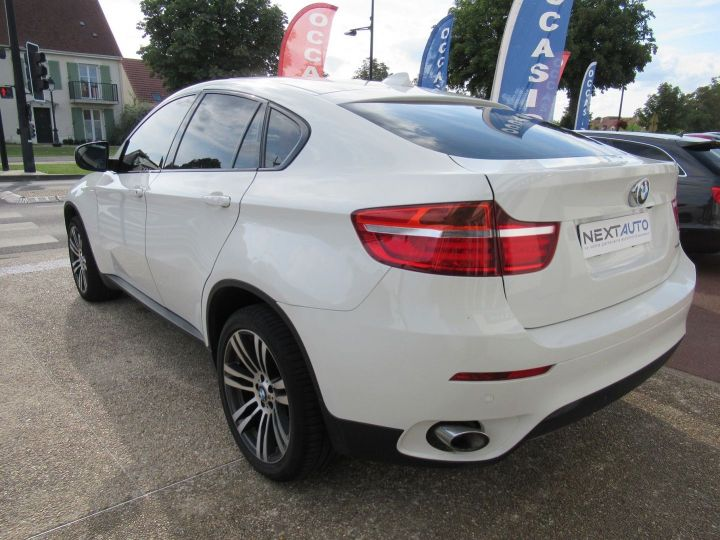 BMW X6 (E71) XDRIVE30DA 245CH M SPORT Blanc - 3