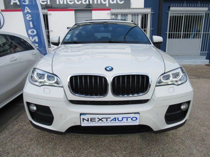 BMW X6 (E71) XDRIVE30DA 245CH M SPORT Blanc - 6