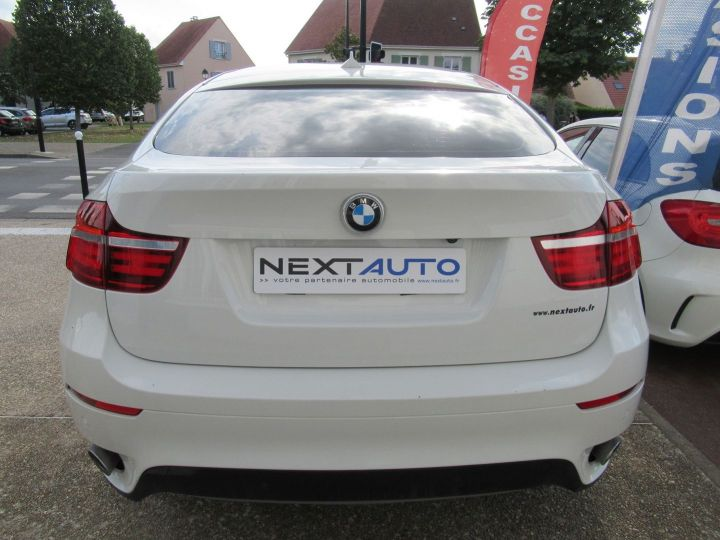 BMW X6 (E71) XDRIVE30DA 245CH M SPORT Blanc - 7