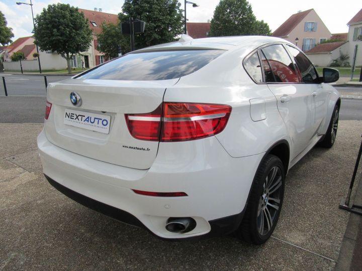 BMW X6 (E71) XDRIVE30DA 245CH M SPORT Blanc - 10