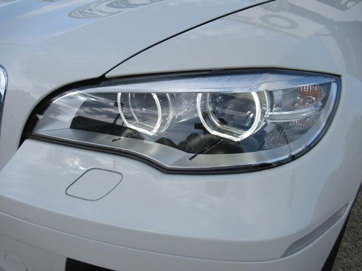 BMW X6 (E71) XDRIVE30DA 245CH M SPORT Blanc - 11