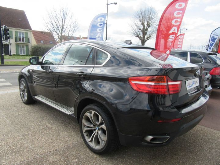 BMW X6 (E71) XDRIVE40DA 306CH EXCLUSIVE INDIVIDUAL Noir - 3