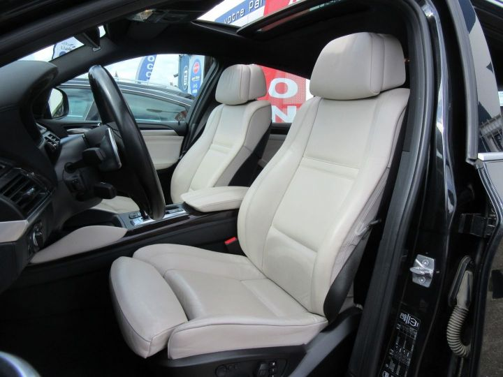 BMW X6 (E71) XDRIVE40DA 306CH EXCLUSIVE INDIVIDUAL Noir - 4