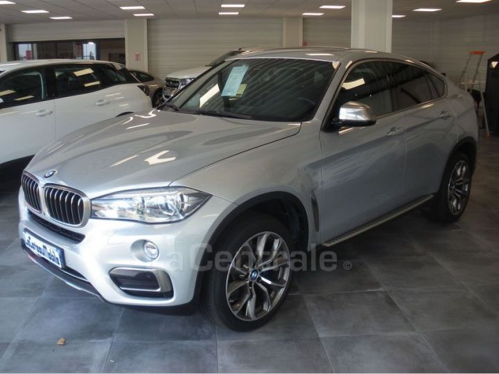 BMW X6 F16 (F16) XDRIVE40D 313 20CV EXCLUSIVE BVA8 Gris Clair Metal - 1