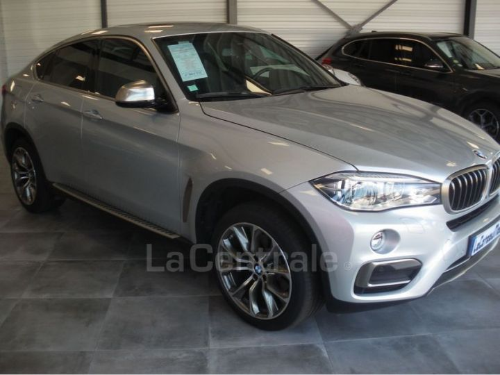 BMW X6 F16 (F16) XDRIVE40D 313 20CV EXCLUSIVE BVA8 Gris Clair Metal - 2