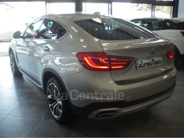 BMW X6 F16 (F16) XDRIVE40D 313 20CV EXCLUSIVE BVA8 Gris Clair Metal - 3