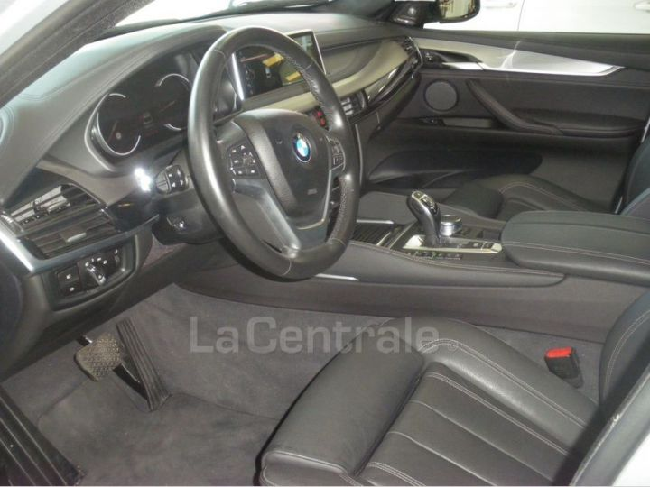 BMW X6 F16 (F16) XDRIVE40D 313 20CV EXCLUSIVE BVA8 Gris Clair Metal - 5