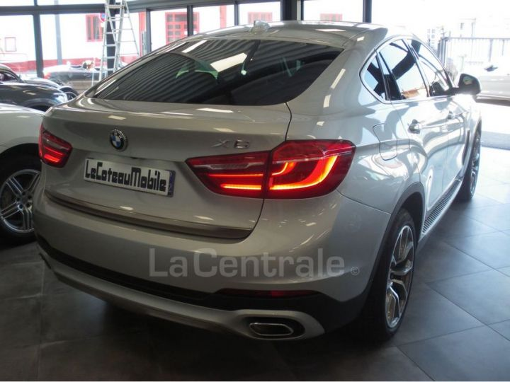 BMW X6 F16 (F16) XDRIVE40D 313 20CV EXCLUSIVE BVA8 Gris Clair Metal - 10