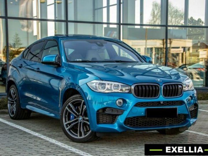 BMW X6 M 4.4 575  BLEU Occasion - 2