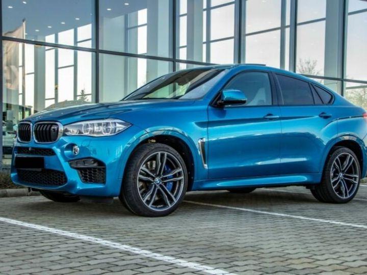 BMW X6 M 4.4 575  BLEU Occasion - 5