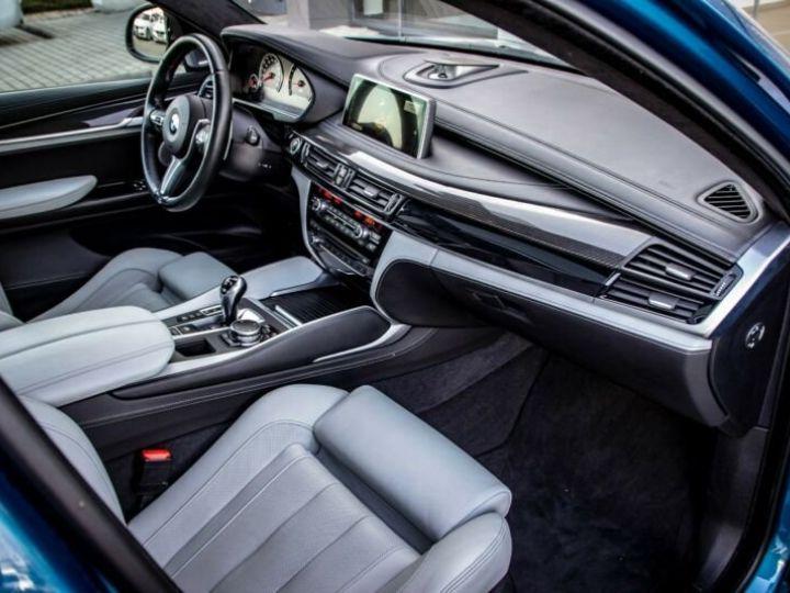 BMW X6 M 4.4 575  BLEU Occasion - 11