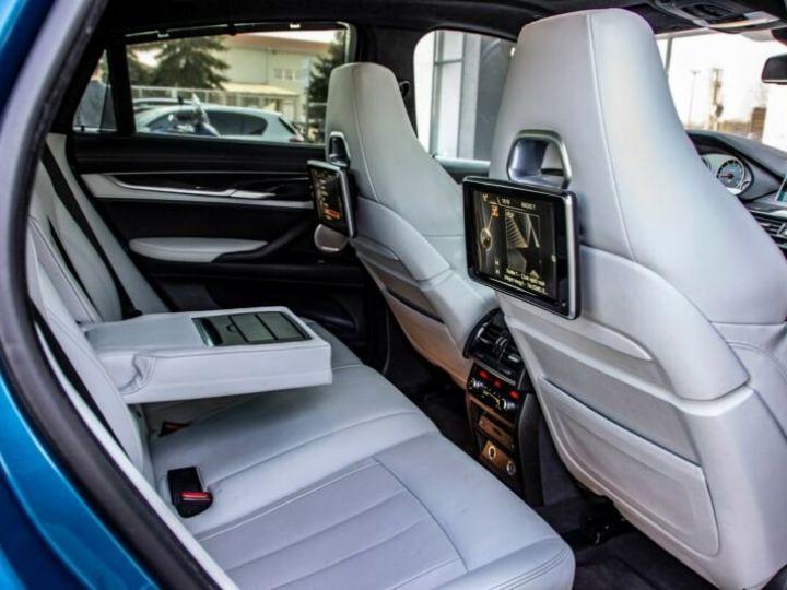 BMW X6 M 4.4 575  BLEU Occasion - 12