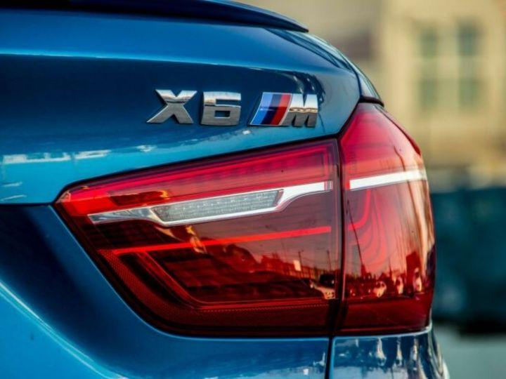BMW X6 M 4.4 575  BLEU Occasion - 18