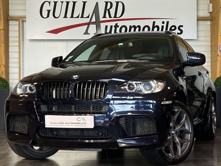 BMW X6 M 4.4 V8 BI-TURBO 555ch (E71) BVA NOIR - 1