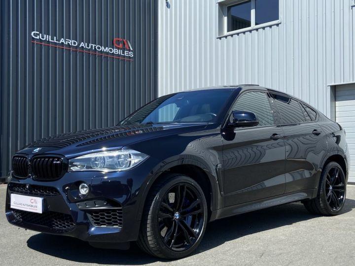 BMW X6 M 4.4 V8 BI-TURBO 575ch (F86 )BVA8 BLEU FONCE - 1