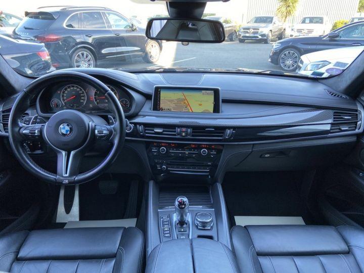 BMW X6 M 4.4 V8 BI-TURBO 575ch (F86 )BVA8 BLEU FONCE - 10