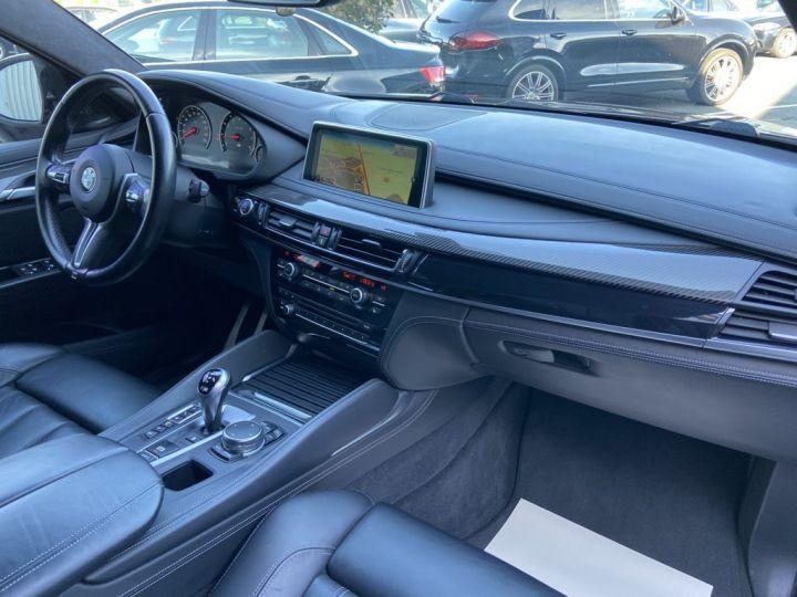 BMW X6 M 4.4 V8 BI-TURBO 575ch (F86 )BVA8 BLEU FONCE - 11