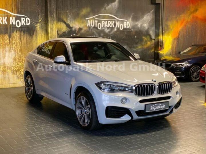 BMW X6 M-sport blanc - 12