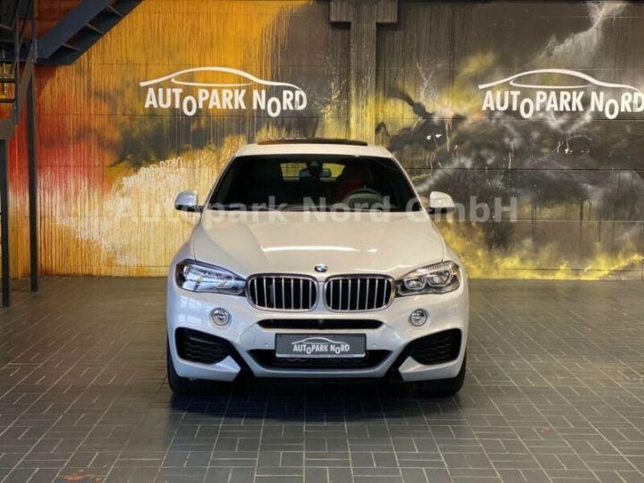 BMW X6 M-sport blanc - 13