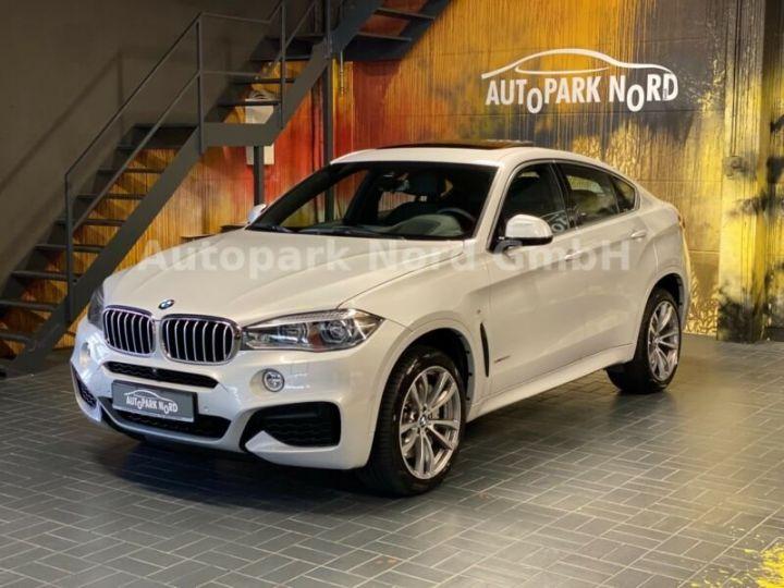BMW X6 M-sport blanc - 14