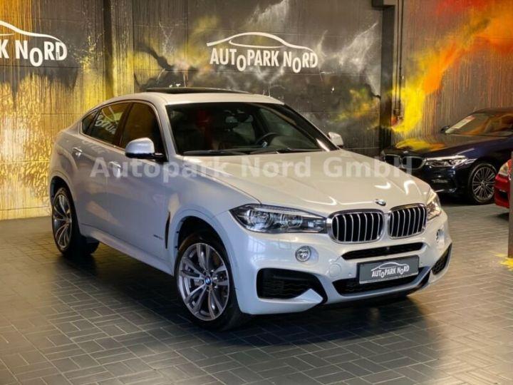 BMW X6 M-sport blanc - 16