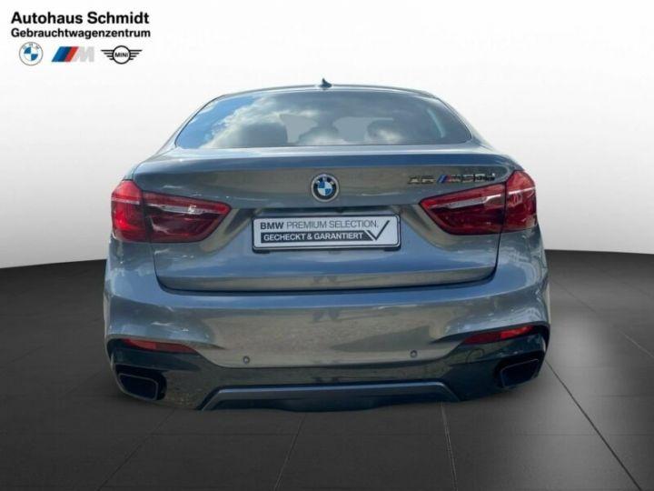 BMW X6 M50d / Toit Panoramique / Jantes 21 pouces / Garantie 12 mois Gris métallisée  - 5