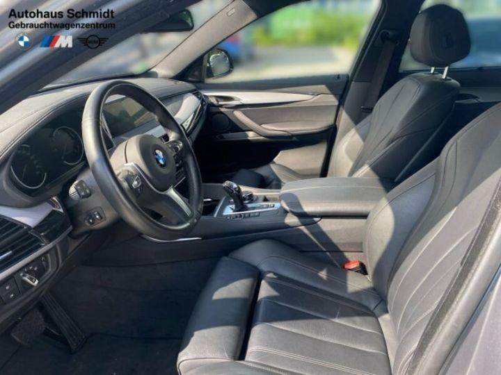 BMW X6 M50d / Toit Panoramique / Jantes 21 pouces / Garantie 12 mois Gris métallisée  - 7