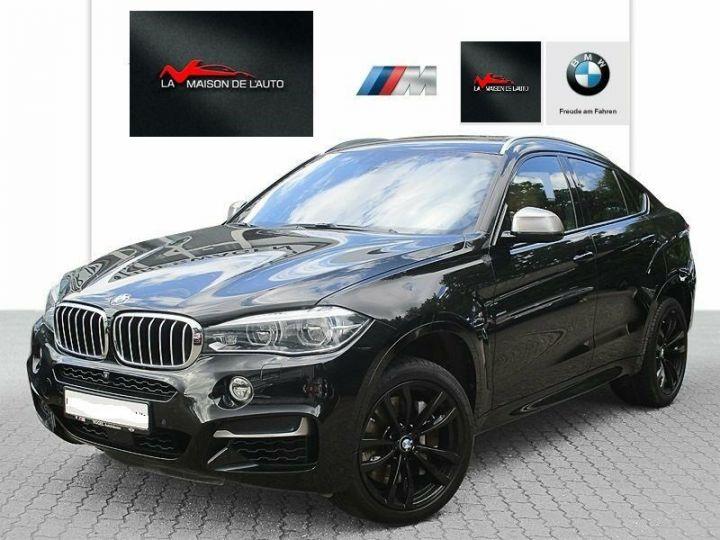 BMW X6 # X6 M50d M # 1ere Main # Gtie # Noir Peinture métallisée - 1