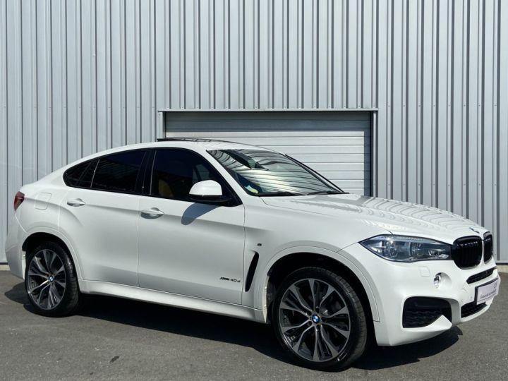 BMW X6 XDRIVE 40 D M-SPORT 313ch (F16) BVA8 BLANC - 3