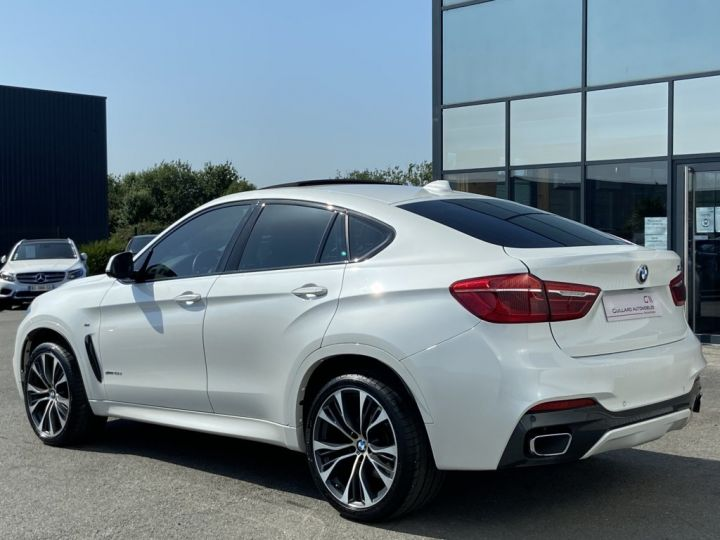 BMW X6 XDRIVE 40 D M-SPORT 313ch (F16) BVA8 BLANC - 5