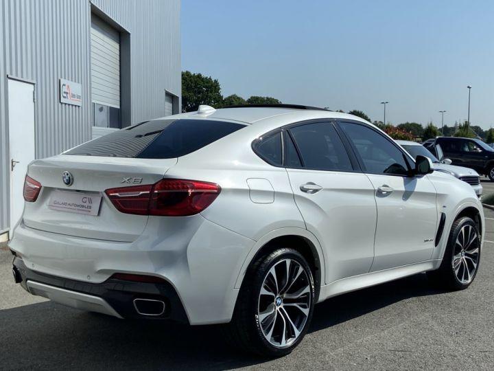 BMW X6 XDRIVE 40 D M-SPORT 313ch (F16) BVA8 BLANC - 6