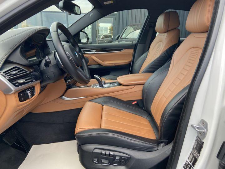 BMW X6 XDRIVE 40 D M-SPORT 313ch (F16) BVA8 BLANC - 11