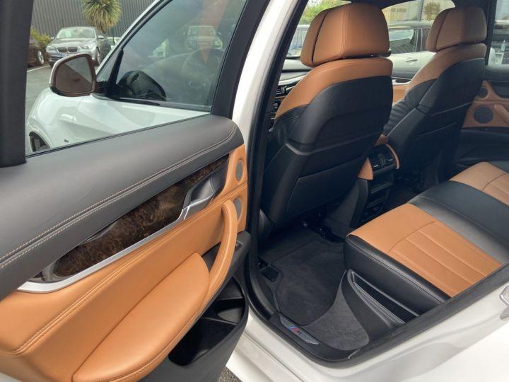 BMW X6 XDRIVE 40 D M-SPORT 313ch (F16) BVA8 BLANC - 14