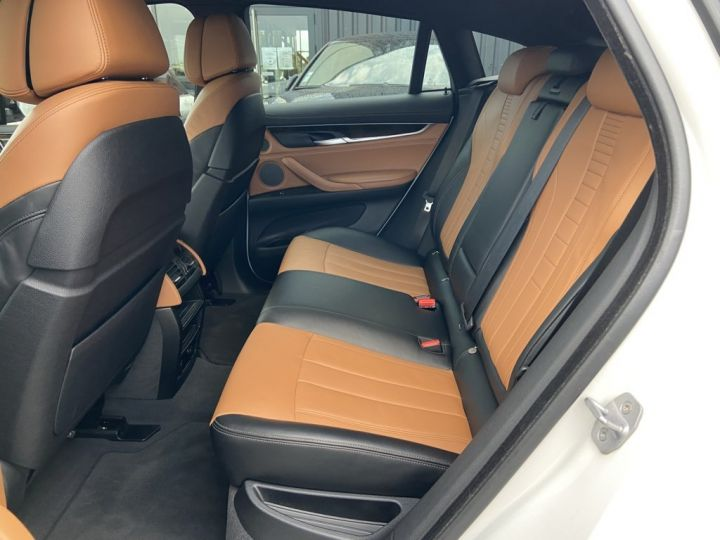 BMW X6 XDRIVE 40 D M-SPORT 313ch (F16) BVA8 BLANC - 15