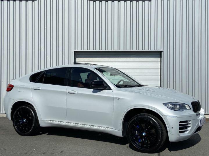 BMW X6 XDRIVE M50d 381ch (E71) BVA8 GRIS CLAIR - 3