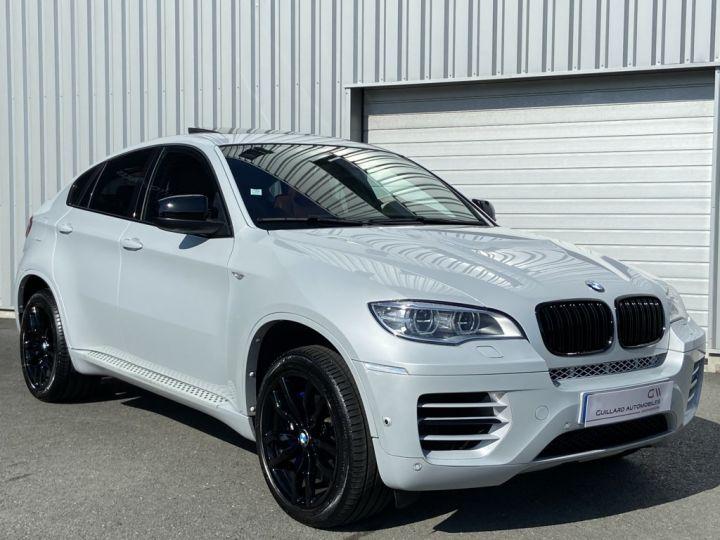 BMW X6 XDRIVE M50d 381ch (E71) BVA8 GRIS CLAIR - 4