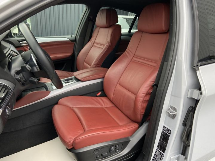 BMW X6 XDRIVE M50d 381ch (E71) BVA8 GRIS CLAIR - 13