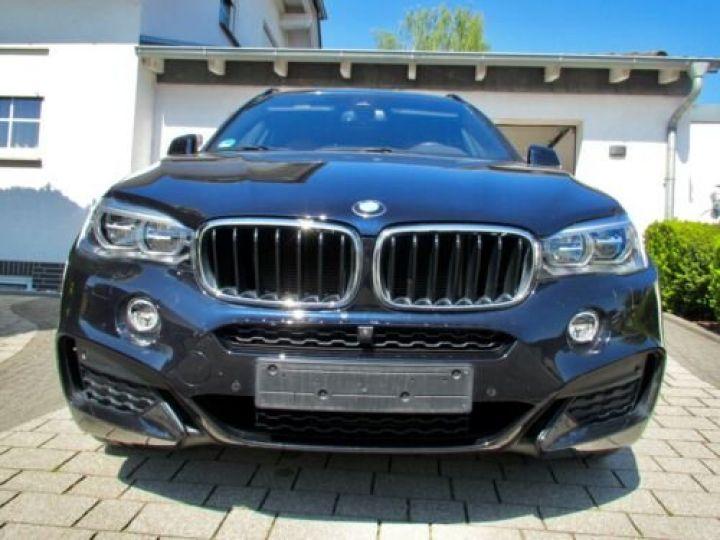 BMW X6 xDrive30d 258 ch M Sport A / Camera 360° / Toit Panoramique / Jantes 21 pouces / GPS / Garantie 12 mois  Noir métallisée  - 2