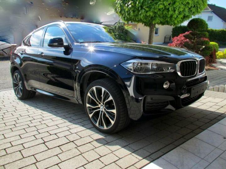 BMW X6 xDrive30d 258 ch M Sport A / Camera 360° / Toit Panoramique / Jantes 21 pouces / GPS / Garantie 12 mois  Noir métallisée  - 4