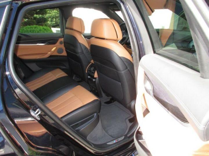 BMW X6 xDrive30d 258 ch M Sport A / Camera 360° / Toit Panoramique / Jantes 21 pouces / GPS / Garantie 12 mois  Noir métallisée  - 12