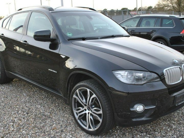 BMW X6 xDrive35d A / exclusive/09/2010 noir métal - 3