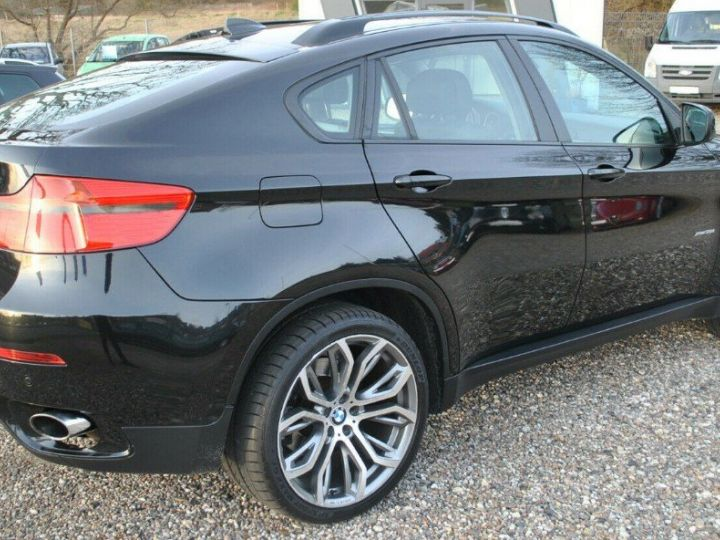 BMW X6 xDrive35d A / exclusive/09/2010 noir métal - 5