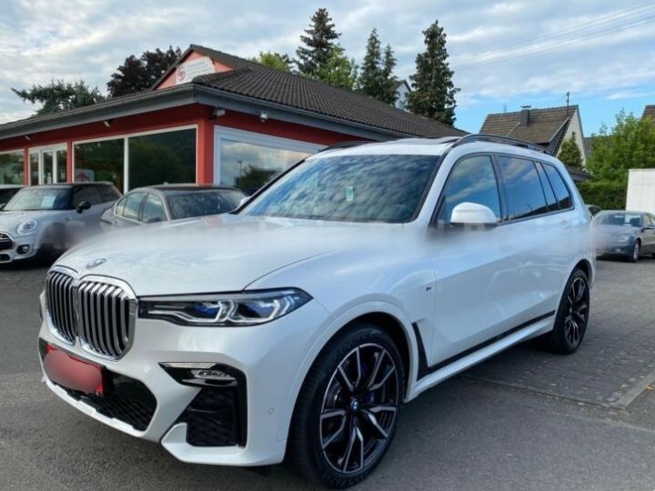 BMW X7 30d M Sport 7 Places PANO Blanc - 3