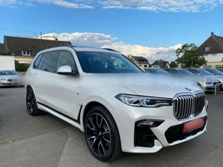 BMW X7 30d M Sport 7 Places PANO Blanc - 6