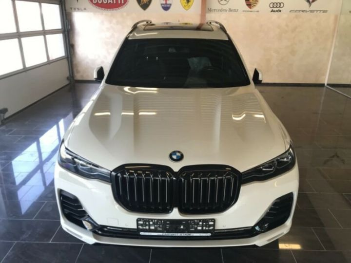 BMW X7  BMW X7 xDrive40i 340 ch BVA8 M Design Pure Excellence 2020 / Toit pano Blanc - 15
