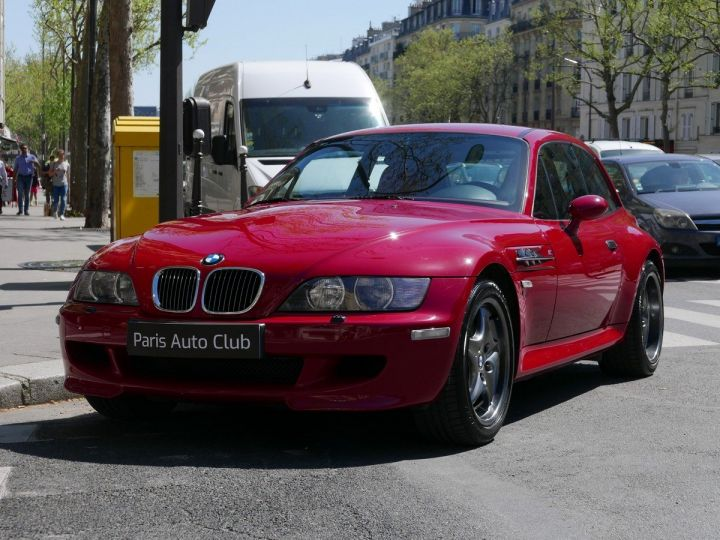 BMW Z3 M 3.2 coupé Rouge Imola Occasion - 1