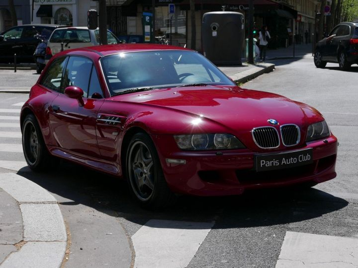 BMW Z3 M 3.2 coupé Rouge Imola Occasion - 2